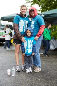 Three generations walking together at the 1st annual 1 Million+ Steps 4 OCD Awareness Walk.
