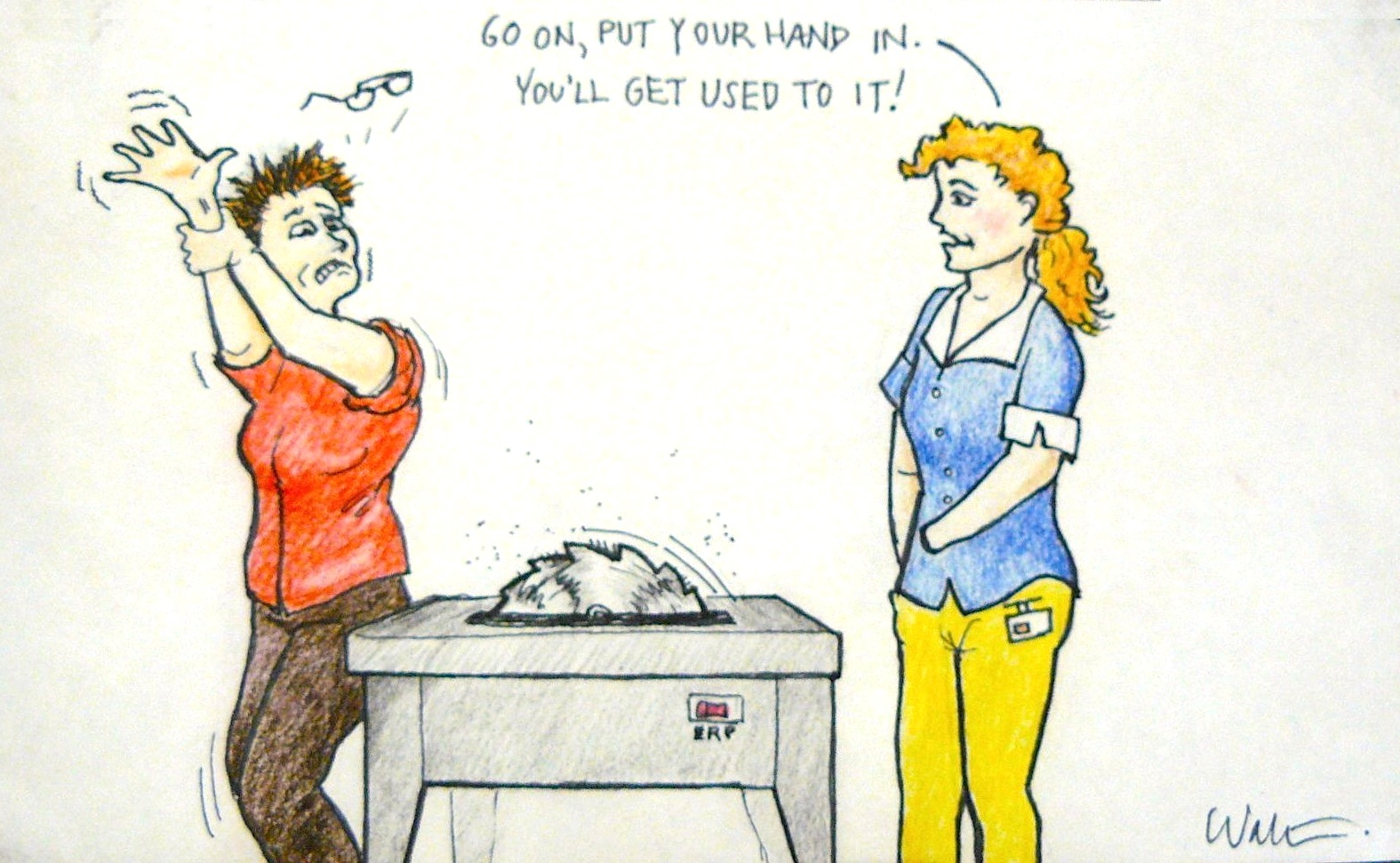 Hip Therapist Body Language